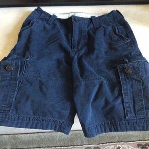 Abercrombie kids cargo shorts size 12
